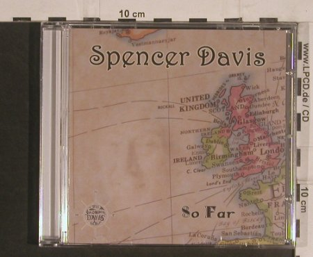 Davis,Spencer: So Far, Evangeline(GELM4123), , 2008 - CD - 99509 - 10,00 Euro
