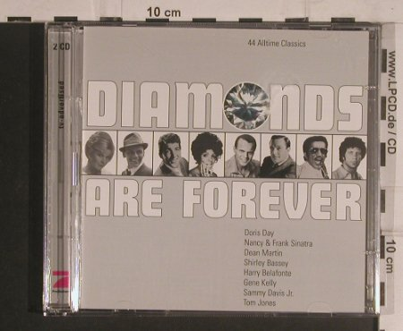 V.A.Diamonds are Forever: 44 Alltime Classics, EMI/ProSieben(532496 2 5), EU, 2001 - 2CD - 99610 - 7,50 Euro