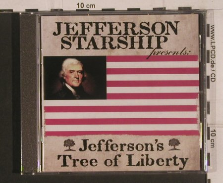 Jefferson Starship: Jefferson's Tree of Liberty, FS-New, Evangeline(GELM4122), , 2008 - CD - 99633 - 10,00 Euro