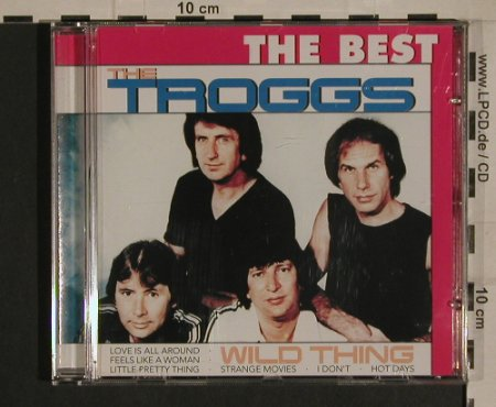 Troggs: Wild Thing, The Best, AustroMech(CD 154.937), EU,  - CD - 99947 - 7,50 Euro