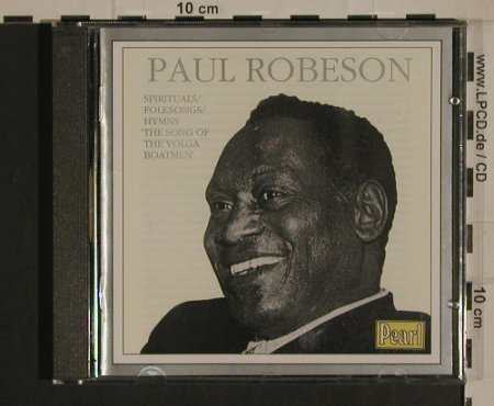 Robeson,Paul: The Song Of The Volga Boatmen, Pearl(CD 9382), UK, 1989 - CD - 99951 - 10,00 Euro