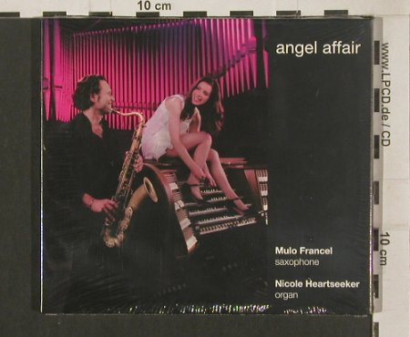 Francel,Mullo & Nicole Heartseeker: Angel Affair, Digi, FS-New, Fine Music/GLM(FM 144-2), , 2009 - CD - 80029 - 10,00 Euro