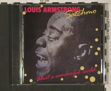 Armstrong,Louis: Satchmo-What A Wonderful World, Verve(837 786-2), D, 1988 - CD - 80224 - 5,00 Euro