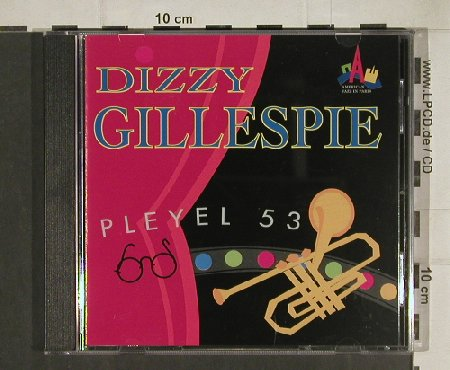 Gillespie,Dizzy: Pleye 53, American Jazz in Paris(74321154662), D, 1993 - CD - 80428 - 7,50 Euro