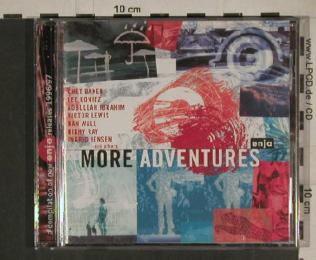 V.A.More Than Adventures: Chet Baker,Lee Konitz,A.Ibrahim..., Enja(SPE-1196-2), D, 1996 - CD - 80463 - 5,00 Euro