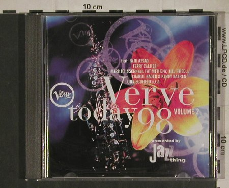 V.A.Verve Today'98: Vol.2, Badi Assad,Metheny,Scofil, Motor(555 837-2), D, 1998 - CD - 80465 - 5,00 Euro