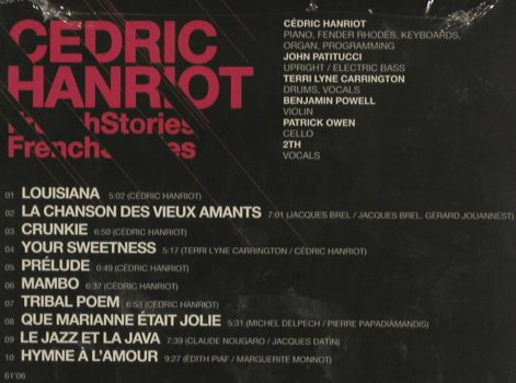 Hanriot,Cédric: French Stories f.Terry Lyne...,Digi, Harmonia Mundi(PL4535), , 2010 - CD - 80735 - 10,00 Euro