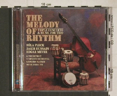 Fleck,Bela & Flecktones: The Melody of Rhythm, FS-New, E1(KOC-cd-2024), EU, 2010 - CD - 80917 - 10,00 Euro