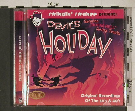 V.A.Swingin' Swanee pres.: Devil's Holiday, 18 Tr. 30's & 40's, Ceraton/EFA(CT 7002), ,  - CD - 81120 - 10,00 Euro