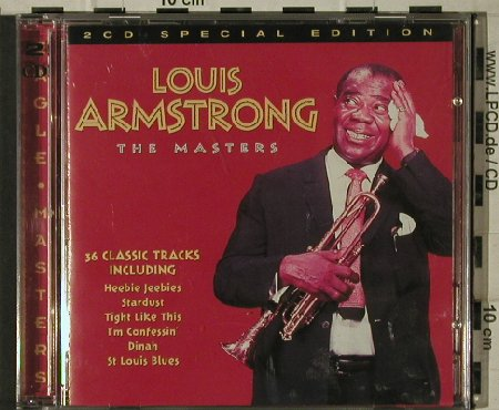 Armstrong,Louis: The Masters, Eagle(EDM CD 012), EC, 1997 - 2CD - 81593 - 6,00 Euro