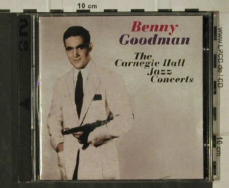 Goodman,Benny: The Famous CarrnegieHall JazzC.1938, Chrisly Rec.(CR 80001), CZ, 1998 - 2CD - 81606 - 6,00 Euro