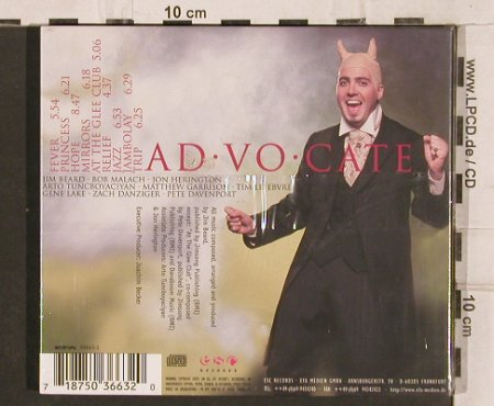 Beard,Jim: Ad Vo Cate, Digi, FS-New, ESC/EFA(ESC 03663-2), , 1999 - CD - 82171 - 5,00 Euro