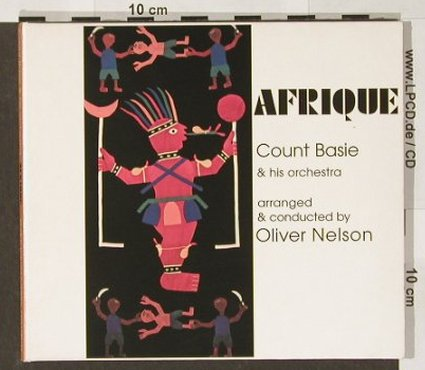 Basie,Count & His Orchestra: Afrique, arr.&cond.by Oliver Nelson, BMG(), EU, Digi, 2000 - CD - 82356 - 11,50 Euro