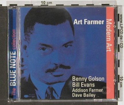 Farmer,Art: Modern Art, Blue Note/Time Life(TL 646/5/7), D, 1991 - CD - 82375 - 9,00 Euro
