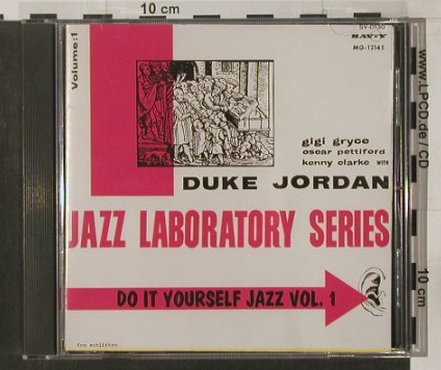 Jordan,Duke / Hall Overton: Do It  Yourself Jazz, Vol.1, Savoy(SV-0130), J, 1991 - CD - 82389 - 9,00 Euro