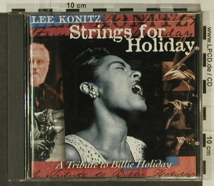 Konitz,Lee: Strings For Holiday, Enja(ENJ-9304 2), D, 1996 - CD - 82394 - 6,00 Euro