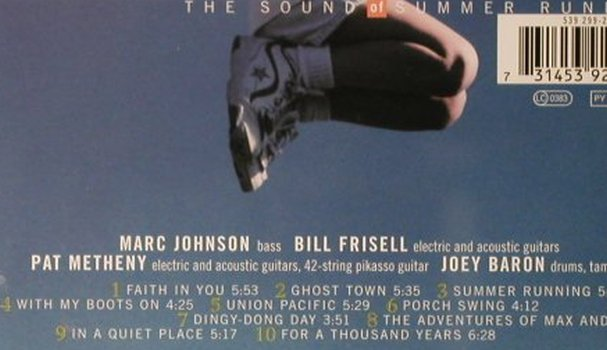 Johnson,Marc: Sound Of Summer Running, PolyGram(), , 1998 - CD - 82398 - 9,00 Euro
