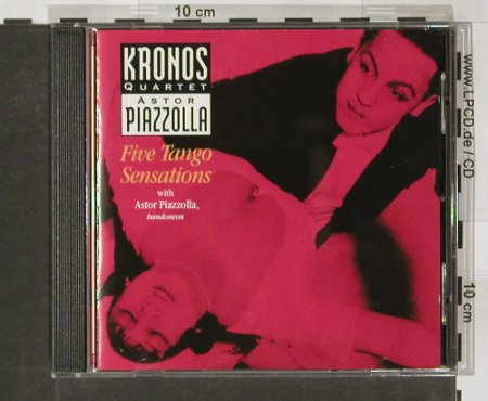 Kronos Quartet & Astor Piazzolla: Five Tango Senations, Elektra(), D, 1991 - CD - 82399 - 9,00 Euro