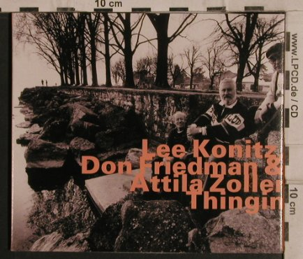 Konitz,Lee/D.Friedmann/A.Zoller: Thingin, Digi, hatOlogy(), D, 2000 - CD - 82402 - 10,00 Euro