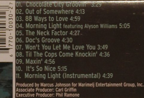 Johnson,Marcus: Chocolate City Groovin', N2K(), US, 1998 - CD - 82403 - 7,50 Euro