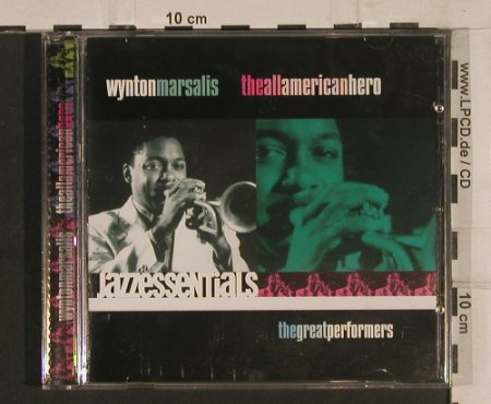 Marsalis,Wynton: The All American Hero, Point Entertainment(), D, 2000 - CD - 82423 - 7,50 Euro