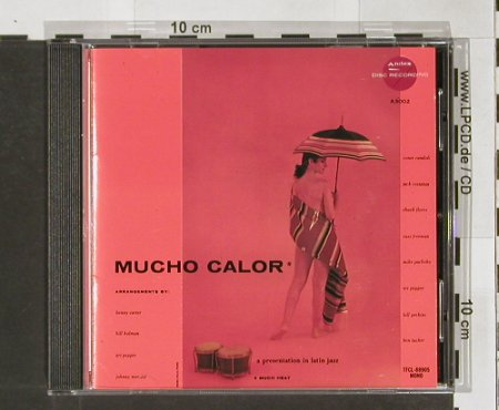 Mucho Calor: a presentation in latin jazz, TOFREC(TFCL-88905), J, 1990 - CD - 82424 - 11,50 Euro