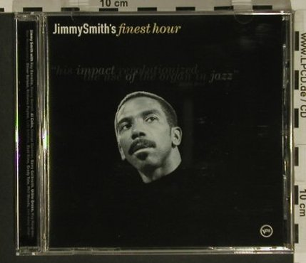 Smith,Jimmy: Finest Hour, Verve(543 598-2), EU, 2000 - CD - 82455 - 7,50 Euro