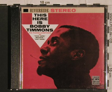 Timmons,Bobby: This Here is '60, Riverside(), D, 1992 - CD - 82461 - 10,00 Euro