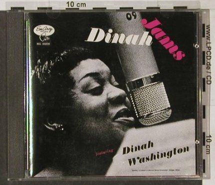 Washington,Dinah: Dinah Jams (L.A. 1954), Emarcy(814 639-2), D, 1990 - CD - 82467 - 11,50 Euro