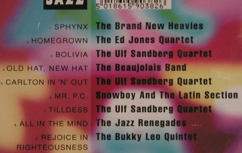V.A.Acid Jazz: Brand New Heavies...Bukky Leo Quint, Acid Jazz(JAZID cd 38), , 1991 - CD - 82470 - 6,00 Euro
