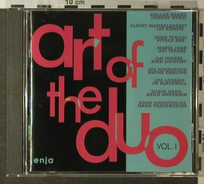 V.A.Art of the Duo: Vol.1  9 Tr., Enja(8008), D, 1993 - CD - 82473 - 10,00 Euro