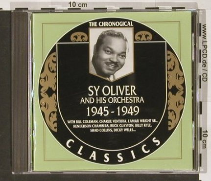 Sy Oliver and his Orchestra: 1945-1949, Classics(1190), F, 2001 - CD - 82475 - 6,00 Euro
