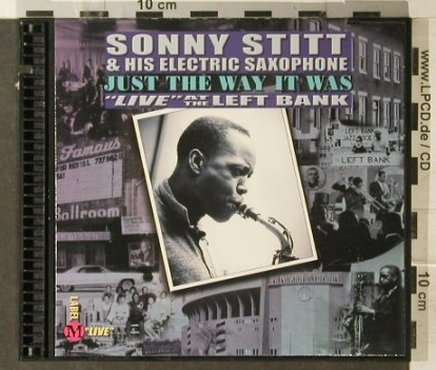Stitt,Sonny & His Electric Saxophon: Live At The Left Bank(71), Digi, co, Label M(5703), US, 2000 - CD - 82481 - 7,50 Euro