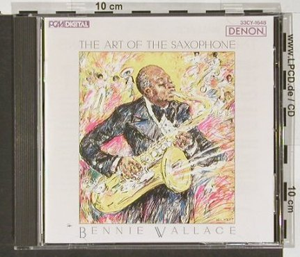 Wallace,Bennie: The Art of The Saxophone, Denon(), J, 1987 - CD - 82487 - 10,00 Euro
