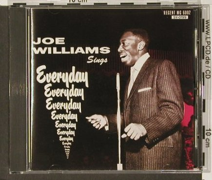Williams,Joe: sings Everyday, Savoy(), J, 1992 - CD - 82490 - 7,50 Euro