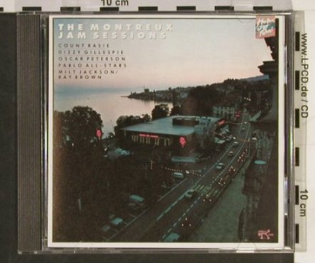 V.A.The Montreaux Jam Sessions: '77, Oscar Petersen..Donna Lee, Pablo(), D,vg+/m-,  - CD - 82496 - 10,00 Euro