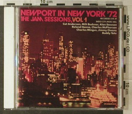 V.A.Newport In New York'72: Vol.1, Repertoire(), D, 1972 - CD - 82497 - 7,50 Euro