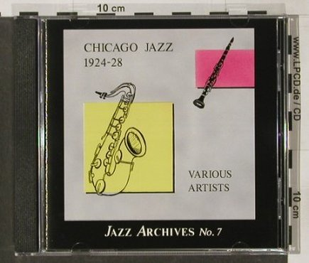 V.A.Chicago Jazz: 1924-28, Jazz Archives No.7, Village(VILcd007-2), D,  - CD - 82501 - 10,00 Euro