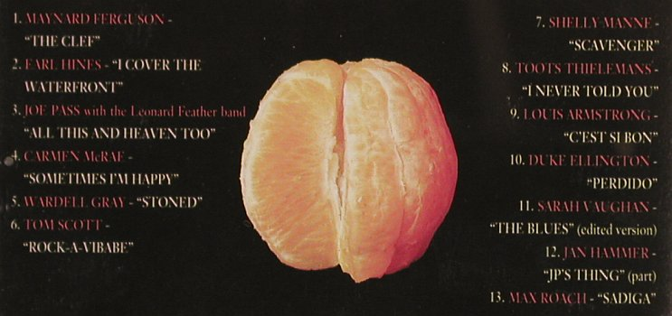 V.A.A Taste Of Jazz 1-4: Late Night Cool With A Hint o.Blues, Red Lion(RLD 001/004), UK,13 Tr., 1992 - CDx4 - 82503 - 11,50 Euro