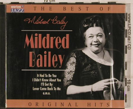 Bailey,Mildred: The Best Of, 18 Tr., FS-New, TIM(221411-205), EU, 2003 - CD - 82980 - 5,00 Euro