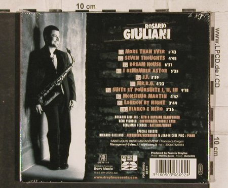 Giuliani,Rosario: More Than Ever, Digi, FS-New, Dreyfus(FDM 36669-2), , 2004 - CD - 83106 - 11,50 Euro