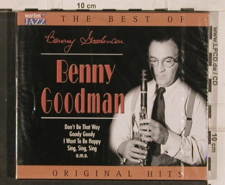 Goodman,Benny: The Best Of, 15 Tr., FS-New, TIM(221393-205), EU, 2003 - CD - 83119 - 7,50 Euro