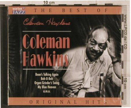 Hawkins,Coleman: The Best Of, 21 Tr., FS-New, TIM(221397-205), EU, 2003 - CD - 83130 - 5,00 Euro