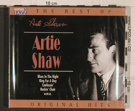 Shaw,Artie: The Best Of, 16 Tr., FS-New, TIM(221392-205), EU, 2003 - CD - 83341 - 7,50 Euro