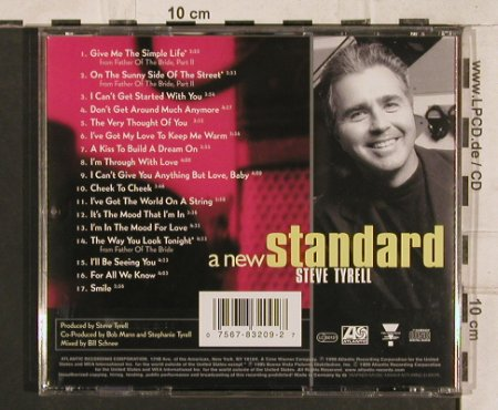 Tyrell,Steve: A New Standard, Atlantic(), US, 1999 - CD - 83372 - 10,00 Euro