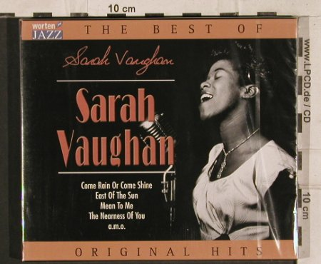 Vaughan,Sarah: The Best Of, 17 Tr., FS-New, TIM(221414-205), EU, 2003 - CD - 83383 - 7,50 Euro