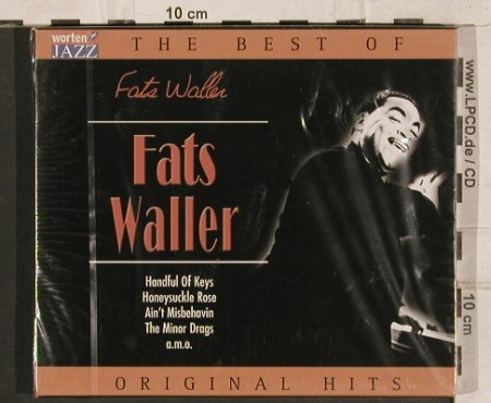Waller,Fats: The Best Of, 17 Tr., TIM(221404-205), EU, 2003 - CD - 83392 - 7,50 Euro