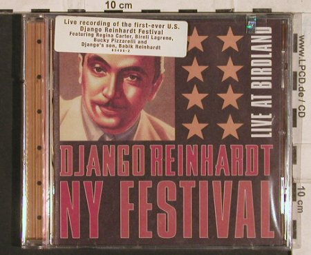 V.A.Django Reinhardt NY Festival: Live at Birdland, FS-New, DivisonOne(), US, co, 2001 - CD - 83448 - 10,00 Euro