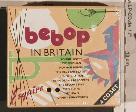V.A.Bebop in Britain: Ronnie Scott,Burns..85Tr.Box,FS-New, Cedar(CDesq100-4), EEC, 1991 - 4CD - 83709 - 19,00 Euro