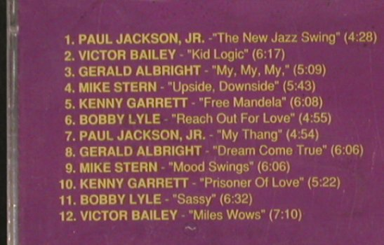 V.A.Get Hip-Get On This Trip: PaulJackson...Victor Bailey, FS-New, Atlantic, 12Tr.(PM 1080), D,Promo, 1991 - CD - 83716 - 5,00 Euro